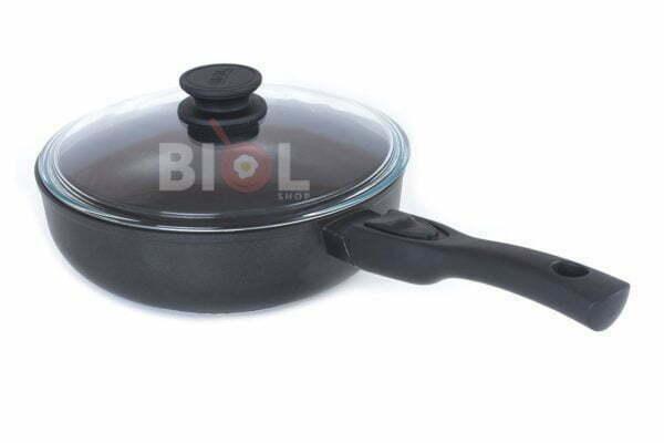 Сковорода Элегант антипригарная 22 см с крышкой купить онлайн