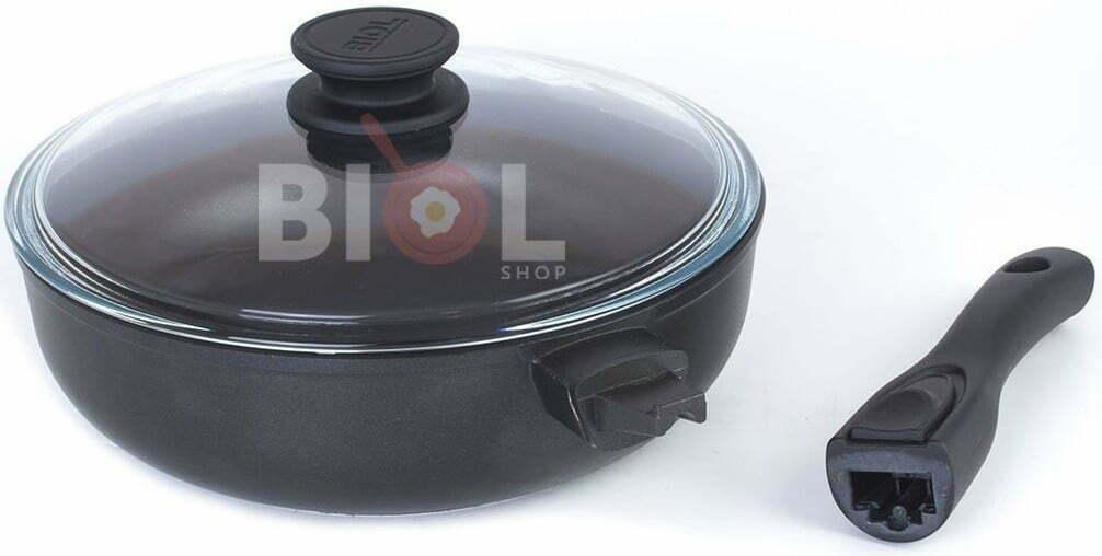 Сковорода тефлоновая 24 см Биол отзывы и описание