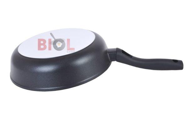 Сковорода с антипригарным покрытием 26 см Классик с крышкой низкая цена