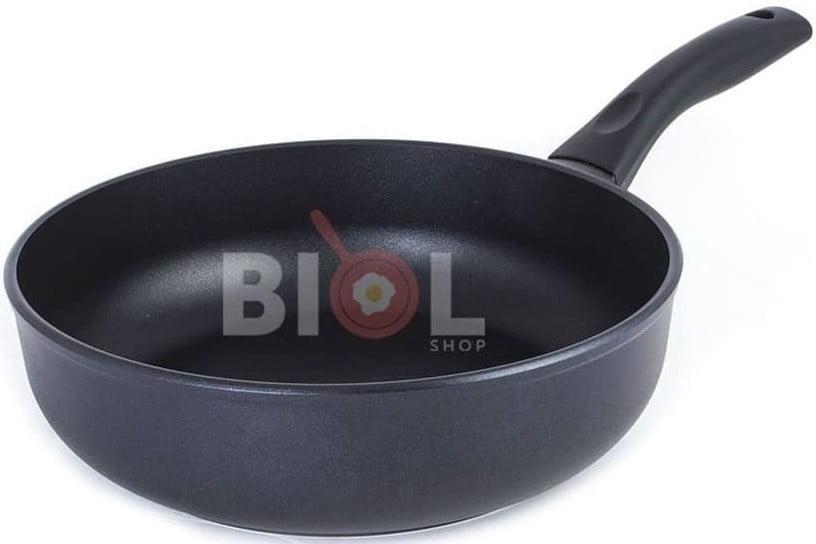 Тефлоновая сковорода с крышкой 24 см заказать с доставкой