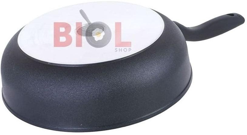 Тефлоновая сковорода с крышкой 22 см цена и отзывы