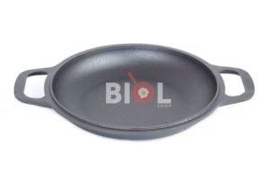 Сковорода чугунная порционная Биол 26 см 02062