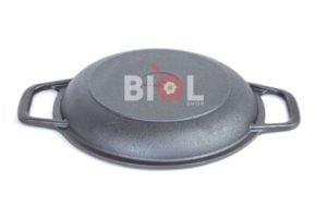 Сковорода чугунная порционная на подставке Биол 20 см 02032д