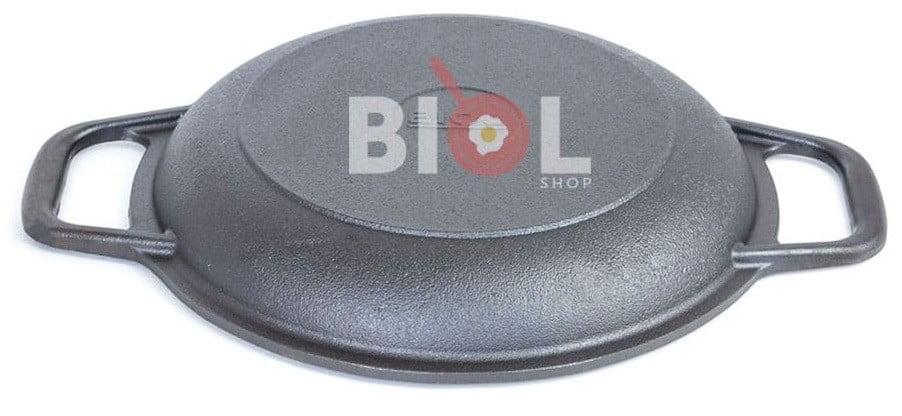 Сковорода порционная Биол чугунная 22 см