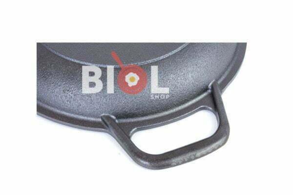 Порционная чугунная сковорода Биол 20 см 02032