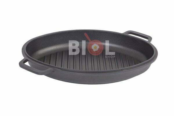 Гусятница Биол алюминиевая с крышкой-сковородой гриль 4 л дешево