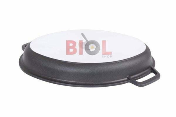 Гусятница Биол с крышкой-сковородой гриль алюминиевая 4 л заказать недорого
