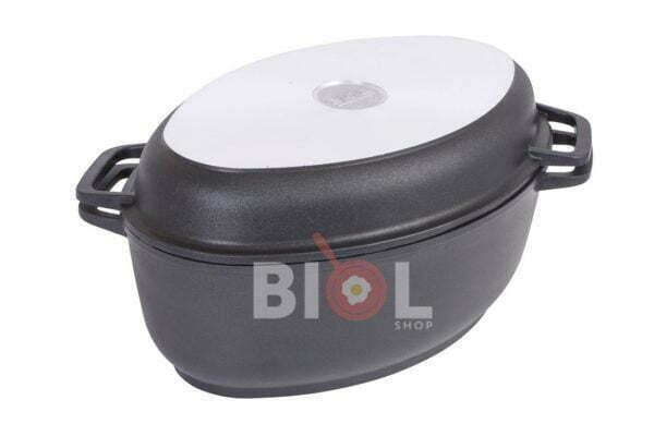 Гусятница Биол алюминиевая с крышкой-сковородой гриль 4 л низкая цена на сайте