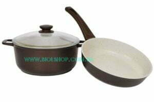 Набор посуды из сковороды и кастрюли