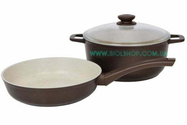 Набор кастрюля и сковородка