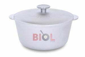 Алюминиевая кастрюля Биол с крышкой 5 л