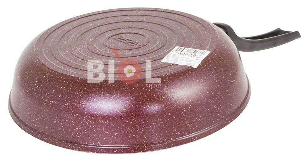 Отличная цена на цветные сковородки Биол алюминиевые