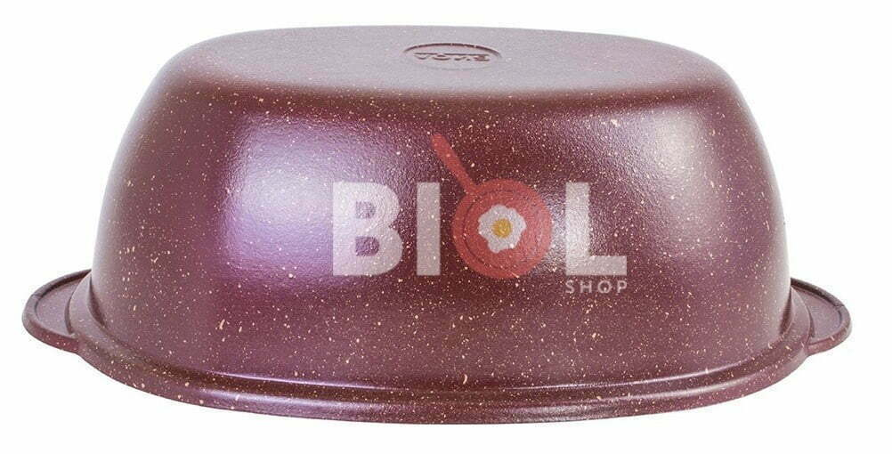 Алюминиевая гусятница 4 литра Биол