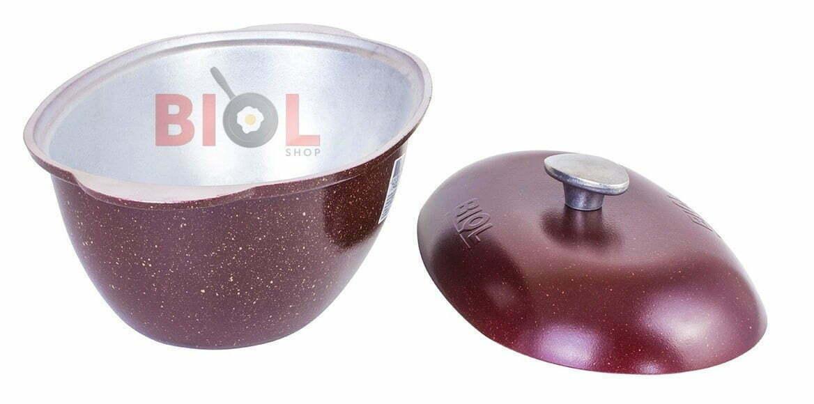 Отличная цена на алюминиевую гусятницу с цветным покрытием Биол