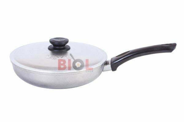 Литая сковородка из алюминия Биол 24 см купить дешево