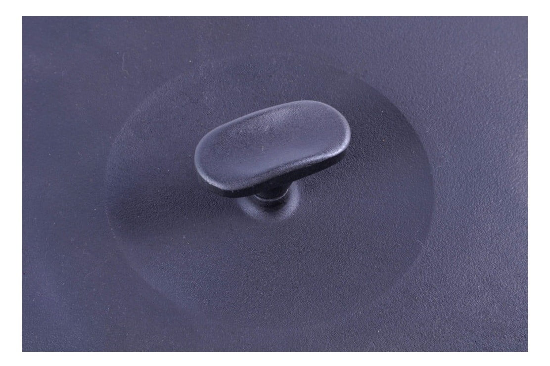 Крышка чугунная 34 см Ситон совместимость с посудой