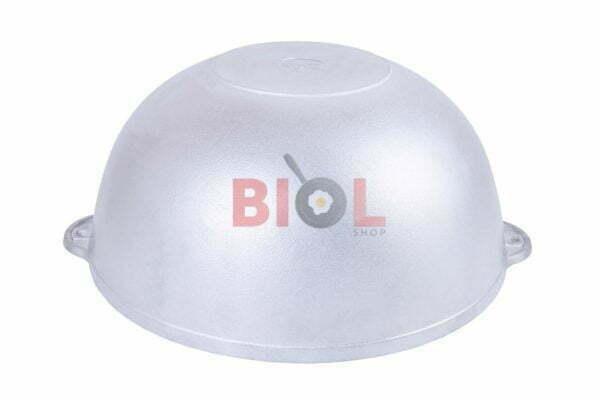 Алюминиевый татарский казан с крышкой литой Биол 4 л низкая цена
