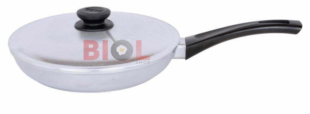 Купить алюминиевую сковородку с крышкой Биол