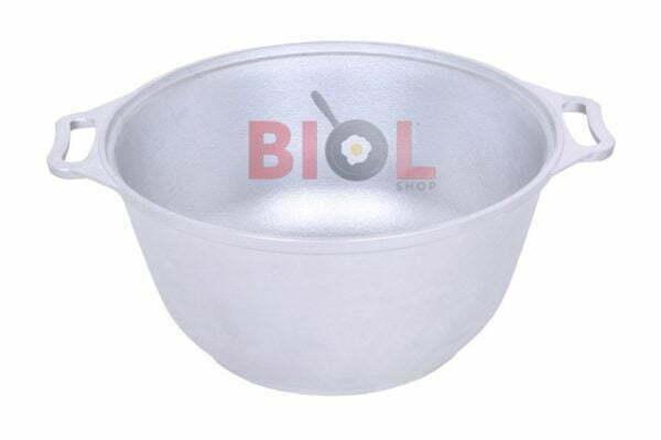 Литая алюминиевая кастрюля Биол с крышкой 2,5 л купить недорогго