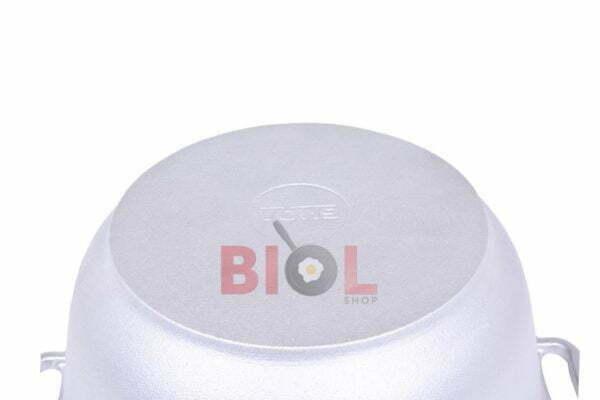 Алюминиевая литая кастрюля Биол с крышкой 2,5 л заказать