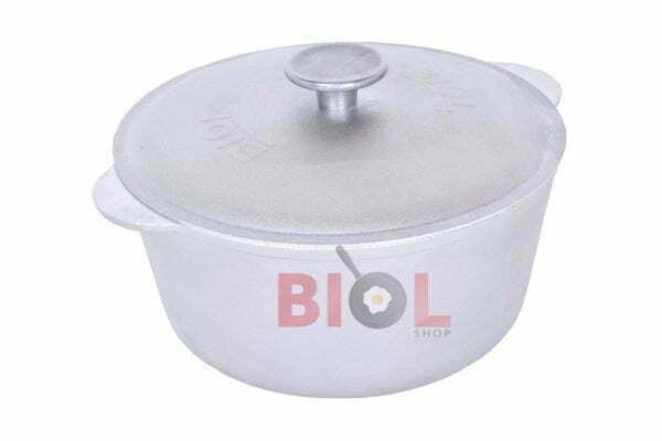 Кастрюля алюминиевая Биол с крышкой 1 л заказать дешево