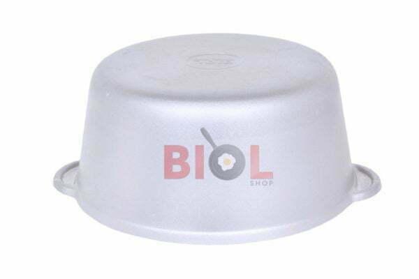 Кастрюля алюминиевая Биол с крышкой 1 л по низкой цене