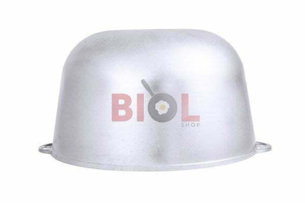 Толстостенный литой казанок из алюминия 10 л Биол