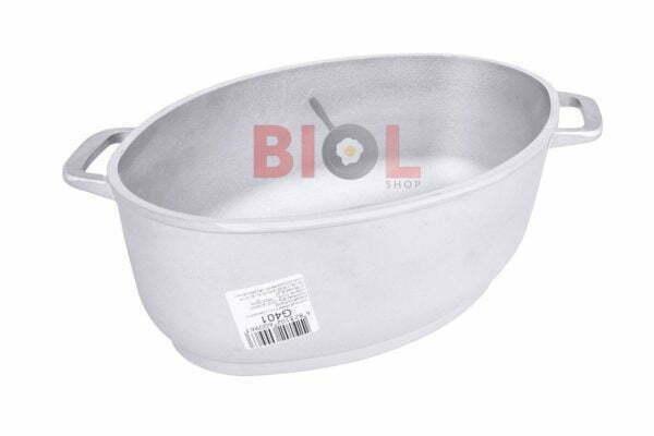 Гусятница алюминиевая и крышка-сковорода Биол 4 л Г401 цена