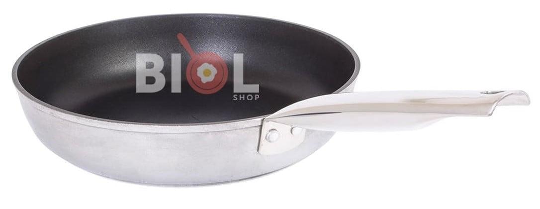 Алюминиевая сковорода с нержавеющей ручкой быстрая доставка