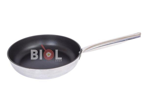 Сковорода из алюминия с нержавеющей ручкой Profi 24 см заказать онлайн