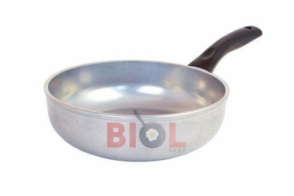 Сковорода сотейник алюминиевая с крышкой Блеск 22 см Биол заказать онлайн