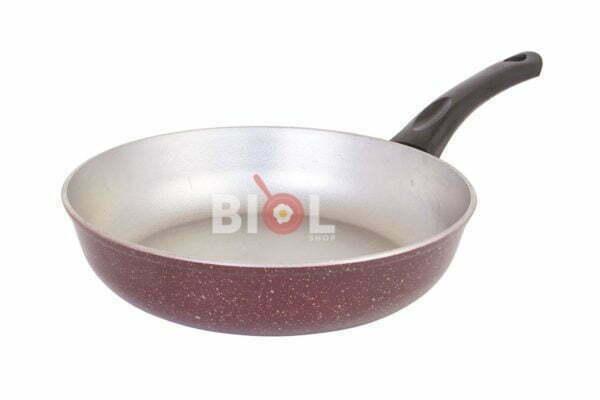 Сковородка алюминиевая с цветным покрытием и крышкой заказать недорого