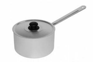 Кастрюля Калитва с металической ручкой и крышкой 1,8 л низкая цена