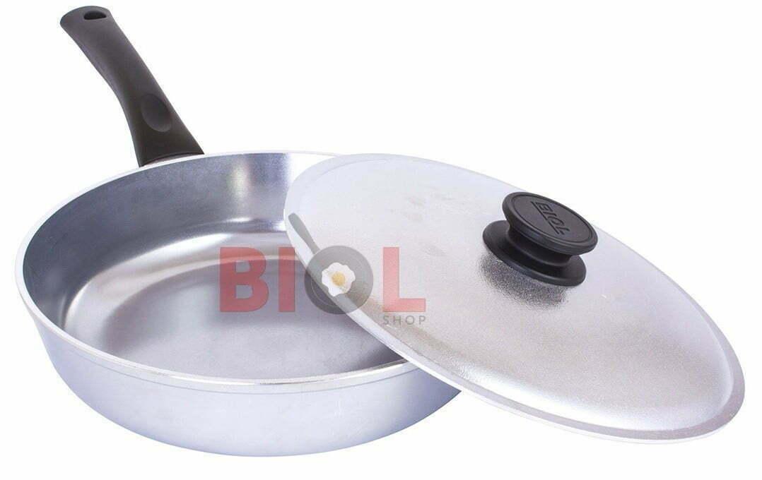 Купить недорого алюминиевую сковородку Биол