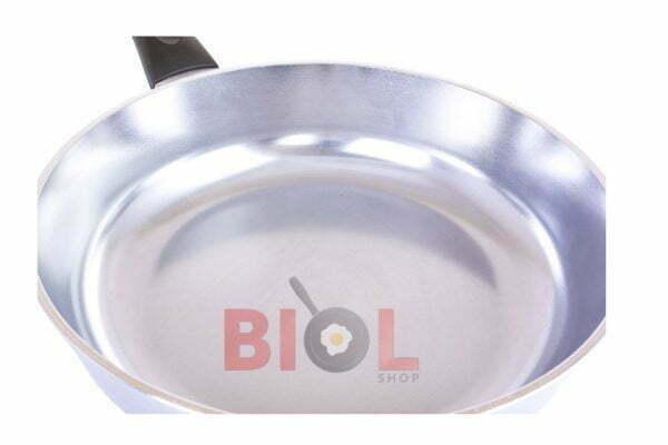 Высокая сковорода с крышкой алюминиевая Биол Блеск 20 см заказать онлайн