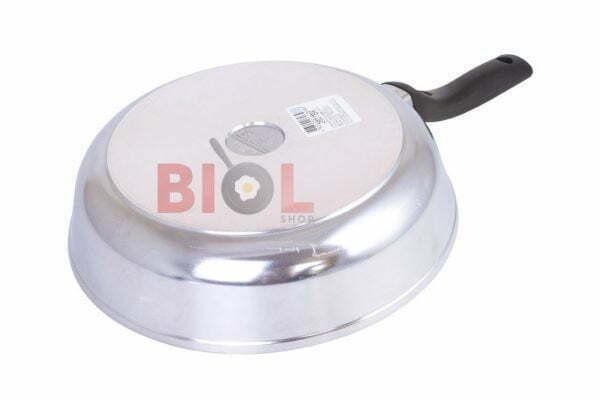 Высокая алюминиевая сковорода с крышкой Биол Блеск 20 см заказать онлайн
