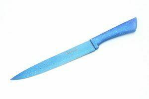 Нож гастрономический из нержавеющей стали Fissman Lagune 20 см купить
