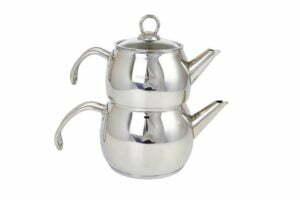 Набор чайников 1.2/1.8 л Hascevher Cigdem нержавеющая сталь