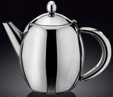Чайник заварочный Wilmax St.Steel 1000 мл Color WL-551103/1C купить недорого онлайн