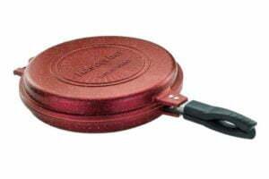 Сковорода-гриль двухсторонняя круглая