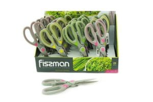 Загружен дляНожницы кухонные из нержавеющей стали Fissman 20 см заказать в Украине