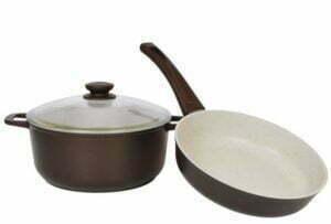 """Набор посуды """"Мокко"""" (кастрюля и сковорода)"""