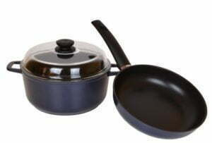 """Набор посуды """"Индиго"""" (кастрюля и сковорода)"""