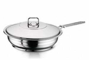 """Сковороды с крышкой из нержавеющей стали """"Hascevher Gastro"""""""