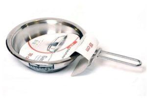 Сковорода нержавеющая 26 см Hascevher Gastro