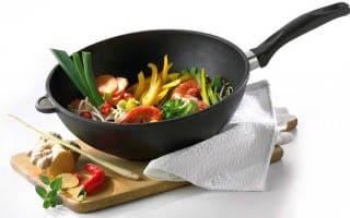 Титановая сковорода уход