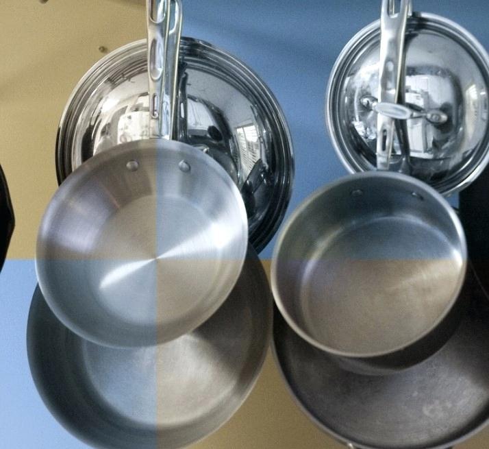 Как мыть алюминиевую сковороду