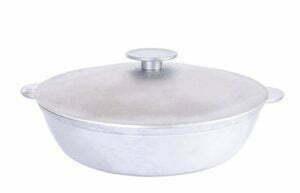 Алюминиевая сковорода с двумя ручками