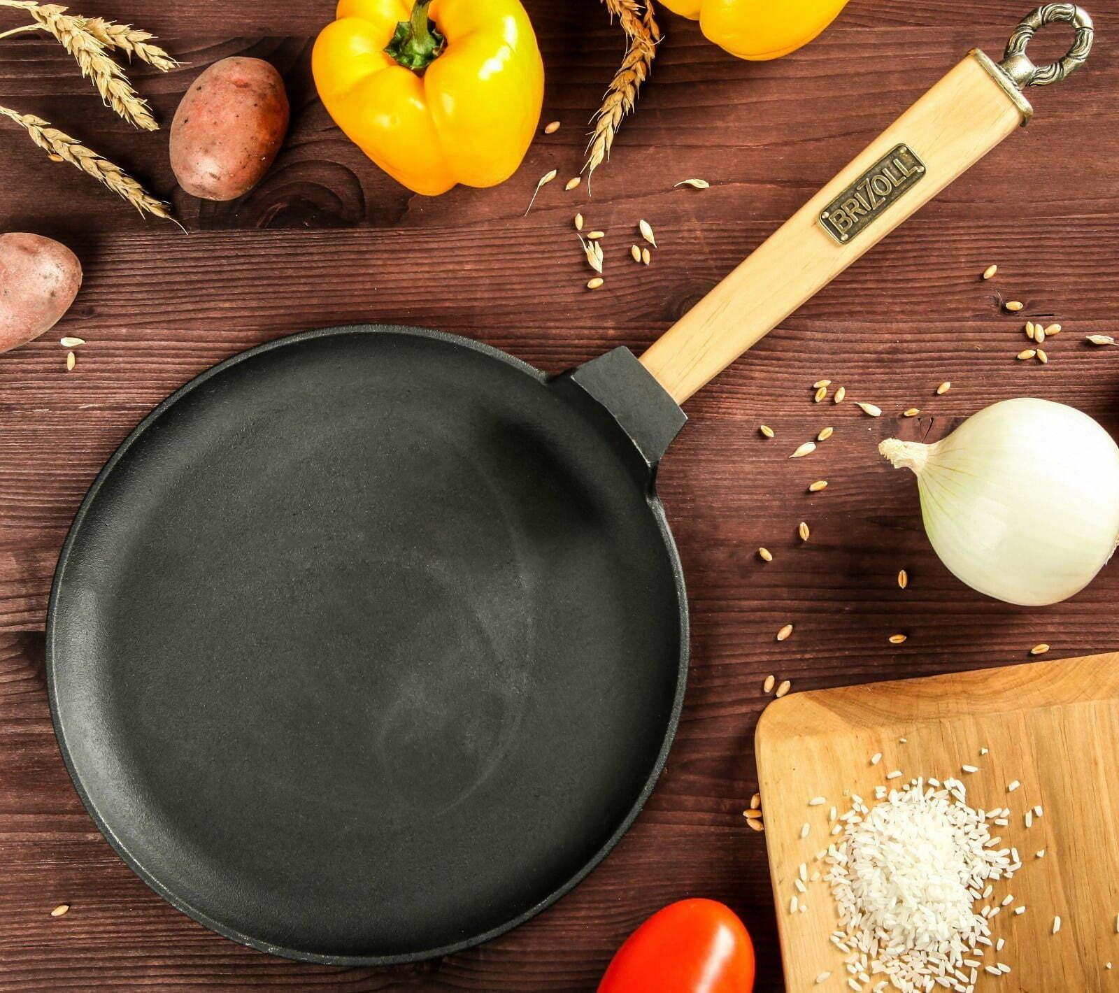 Как мыть блинную сковороду