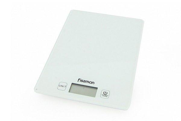 Весы кухонные электронные 19x14x1.4 см Fissman EL-0320.KS